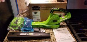 Greenworks 40V leaf blower for Sale in Kyle, TX