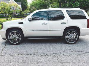 URGENT07 Cadillac Escalade White FOR SALE for Sale in Richmond, VA