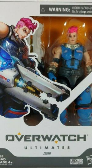 Overwatch Ultimates Zarya action figure by Hasbro for Sale in Brooklyn, NY