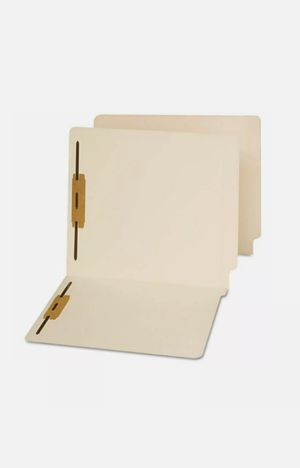 Medical Arts Press Letter Size Top-Tab Manila File Folders; 11 Point, 1/3 Cut, 2 Fasteners (31445) for Sale in Hamburg, NY