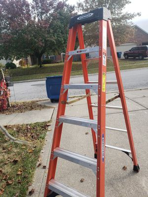 Werner 6ft ladder for Sale in Indianapolis, IN