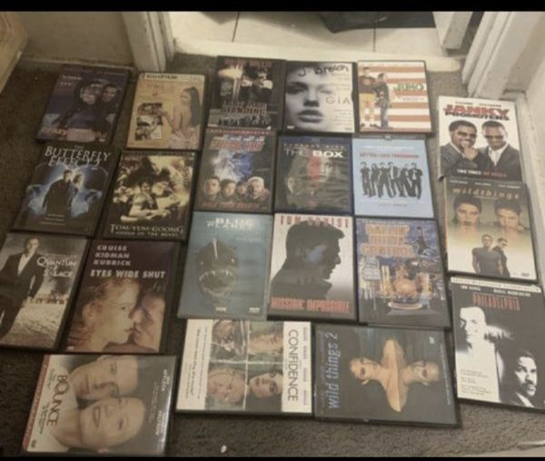 84 dvds all work can have them all for 50.00