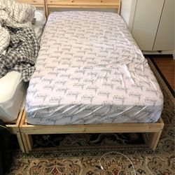 Twin Mattress And Bed Frame for Sale in Seattle,  WA