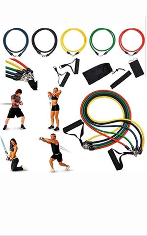 Home Exercise Resistance Band Set for Sale in Hialeah, FL