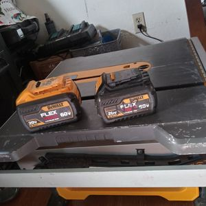 Dewalt Battery Table Saw No Charger Comes With 2 Batteries for Sale in Hayward, CA