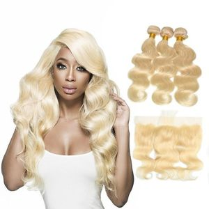 Body Wave Three Hair bundles with Frontal for Sale in Qingdao Shi, CN