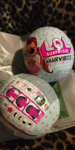 LoL Surprise #Hairvibes Dolls Brand New/Unopened 2/15$ for Sale in Milwaukie, OR