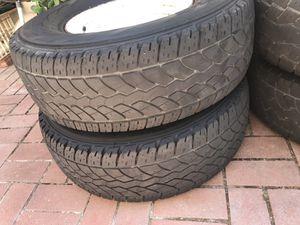 2 Yokohama Geolander tires H/T-S 31x10.50R15 109Q for Sale in Santa Ana, CA