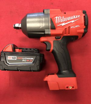 """Milwaukee Fuel 1/2"""" Square Ring Impact Wrench for Sale in Clermont, FL"""