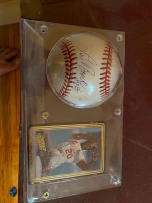 Autographed Lou Brock Baseball for Sale in Bakersfield, CA