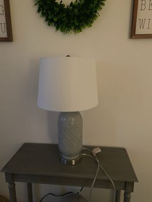 HOMEGOODS FARMHOUSE LAMP WITH SHADE for Sale in North Smithfield, RI