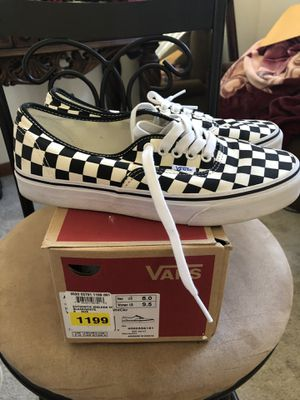 Checkered vans for Sale in Cleves, OH