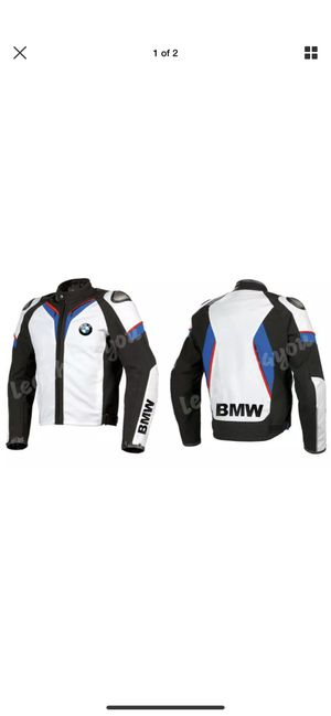 BMW Leather motorcycle riding jacket size Large/44 for Sale in Claremont, CA