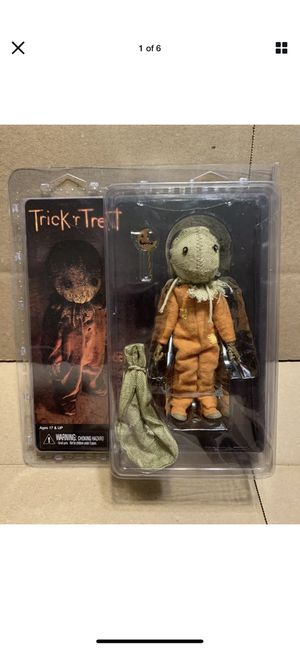 Neca horror Sam trick r treat clothed action figure for Sale in Clearwater, FL