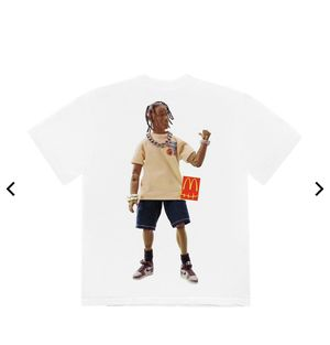 Travis Scott *ACTION FIGURE MCDONLDS* t shirt for Sale in Santa Clarita, CA