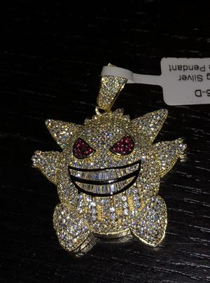 Sterling Silver Iced out Pendant for Sale in Atlanta, GA