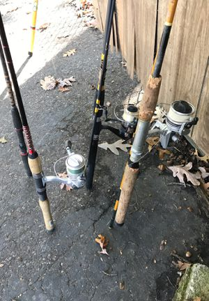 3 rods & reals & 1 road take all at low price for Sale in Monroe Township, NJ