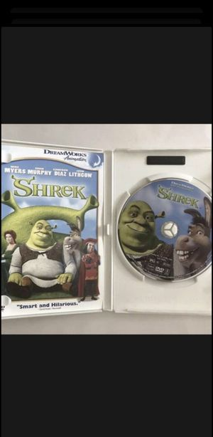 Shrek DVD Movie for Sale in Los Angeles, CA