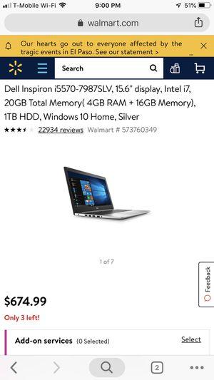 Dell laptop for Sale in Bradenton, FL