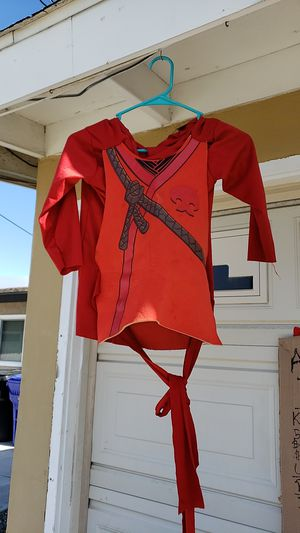 Red Ninja Costume Ages 6-8 for Sale in San Diego, CA