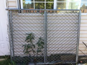 Chain Link Drive-Through Gated, Metal Chain Gates, 2 Section includes Locking Pole for Sale in Arlington Heights, IL