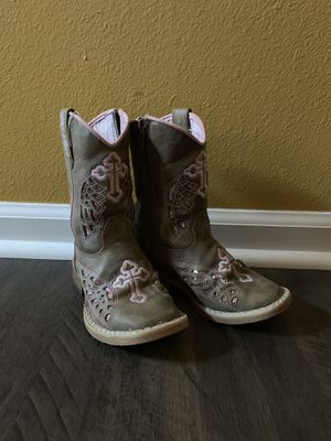 Little girls boots for Sale in Sheridan, AR