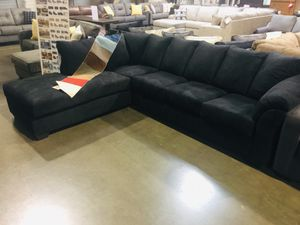 Black 2 Piece Sectional Sale for Sale in Portland, OR