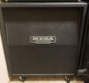 Mesa 4x12 Rectifier Oversized Cabinet with Vintage 30s for Sale in Houston, TX