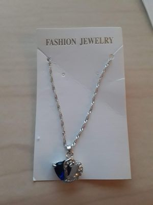 Silver Heart Necklace for Sale in Columbus, OH