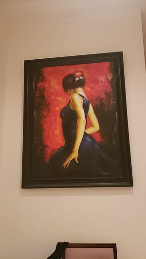 """Beautiful large wall frame 54"""" h X 42"""" L for Sale in Los Angeles, CA"""