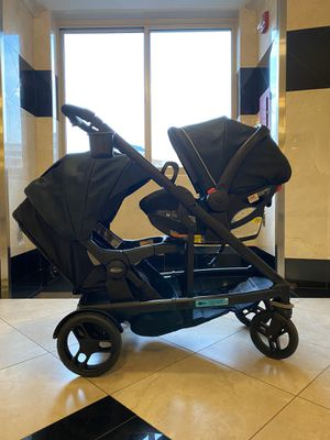 Graco Uno2Duo Travel System, Stroller and Infant Car Seat for Sale in Arlington, VA