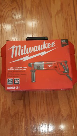"Milwaukee electric 1"" SDS Rotary Hammer Drill for Sale in Temple, TX"
