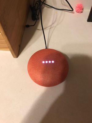 Google home Mini with light bulb for Sale in Moore, OK