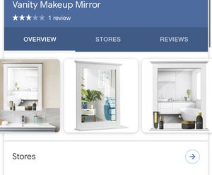 Bathroom cabinets and vanity w/ mirror for Sale in Bakersfield, CA