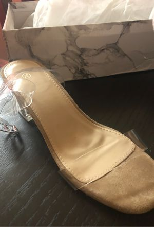 clear strappy heels for Sale in Beaverton, OR