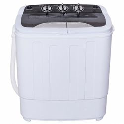 8 Lbs Compact Mini Twin Tub Washing Spiner Machine for Sale in City of Industry,  CA