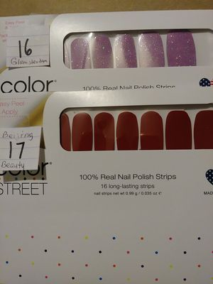 Some more Color Street Nail Strips 16 17 for Sale in Pompano Beach, FL
