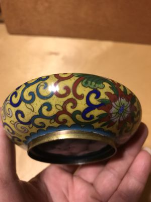 Antique Chinese Cloisonne Ashtray for Sale in Kennesaw, GA