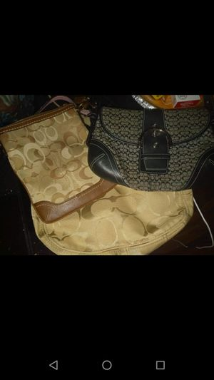 Three Coach bags 35$ must pick up. for Sale in Washington, DC