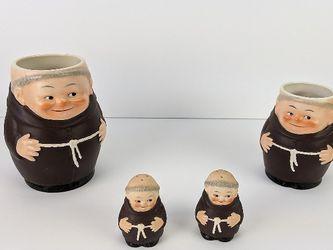 Hummel - Set of 4 Friar Tuck Mugs + Salt shakers TMK-3 for Sale in Portland,  OR