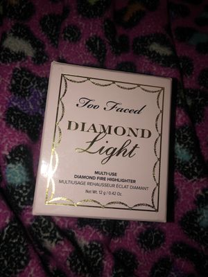 Too Faced Diamond Light Highlighter for Sale in Salt Lake City, UT