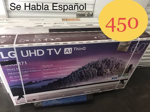 """LG - 60"""" Class - LED - 2160p - Smart - 4K UHD TV with HDR for Sale in Mesa, AZ"""