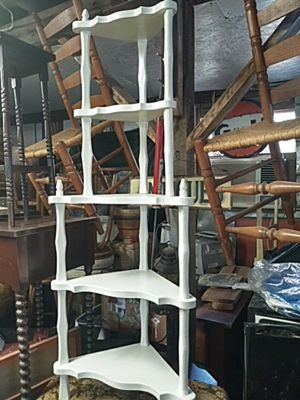 Sturdy white corner shelf for Sale in Ashland City, TN