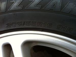 4 Subaru winter tires 205/55R16 91R for Sale in Redmond, WA