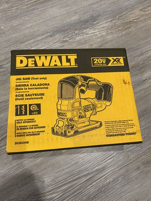 DEWALT 20-Volt MAX XR Lithium-Ion Cordless Brushless Jigsaw (Tool-Only) for Sale in Chesapeake, VA