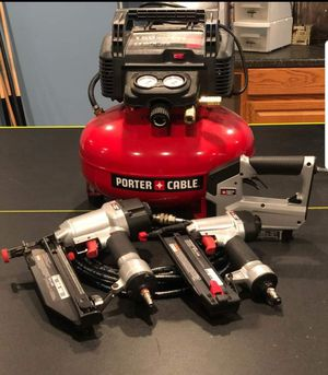 Porter Cable Compressor with Tool Kit for Sale in Greenwood, DE