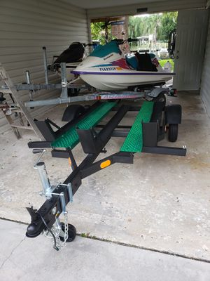 3 rail motorcycle trailer No Trades cash only Brand new tires and rims Low bawlers will be ignored for Sale in Tarpon Springs, FL