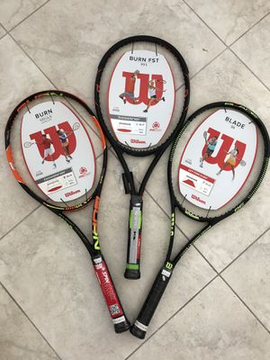 Tennis Rackets brand new for Sale in Boynton Beach, FL