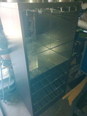Wine bar cabinet rack storage for Sale in Houston, TX