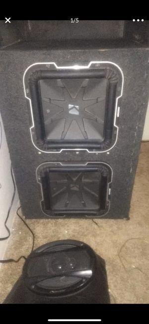 L7 subwoofer box for Sale in Everett, WA